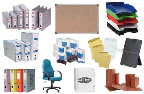 Complementos de oficina etiquetas sobres maquinas de for Articulos de oficina